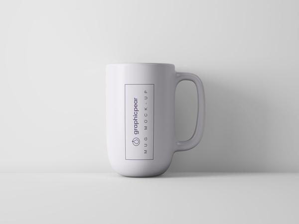 Simple Coffee Mug Mockup – Free