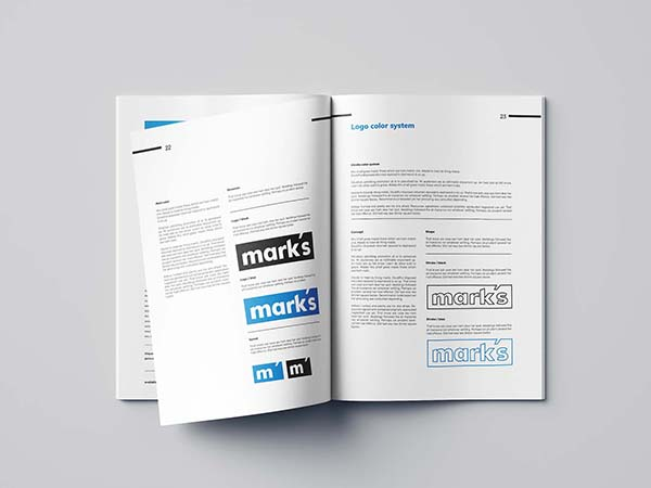 Free Indesign Branding Manual Template