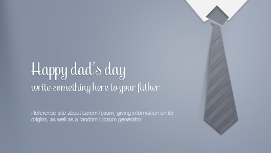 father u0026 39 s day greeting card  psd