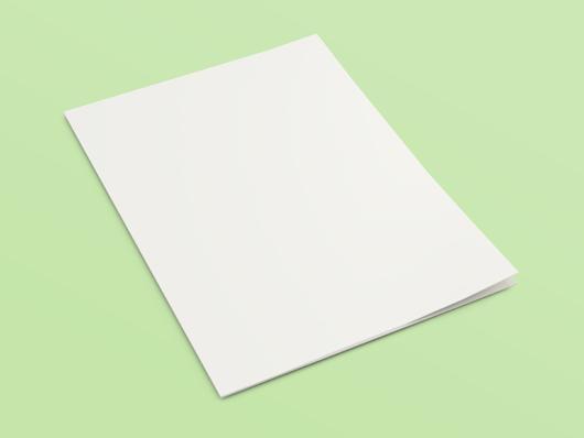 folded page mockup   psd    smart object
