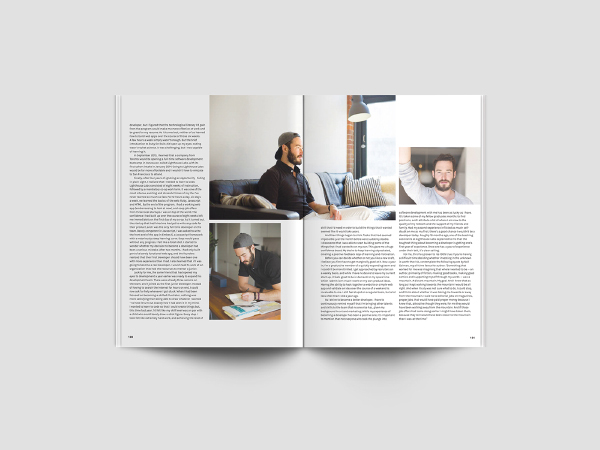 a4 magazine mockup psd free download