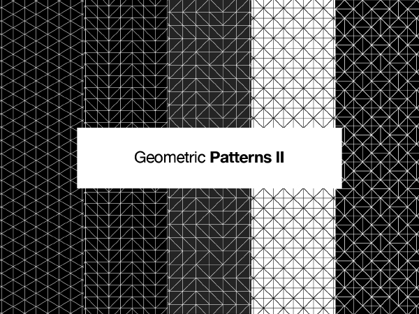 10 Free Seamless Geometric Vector Patterns for Designers