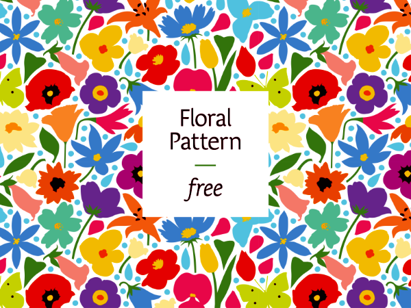 Floral Flower Pattern Free Download