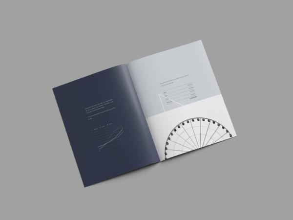 letter brochure mockup psd free download