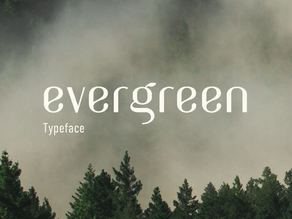 Evergreen Font Free Download