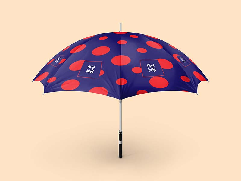 Free PSD Umbrella Mockup